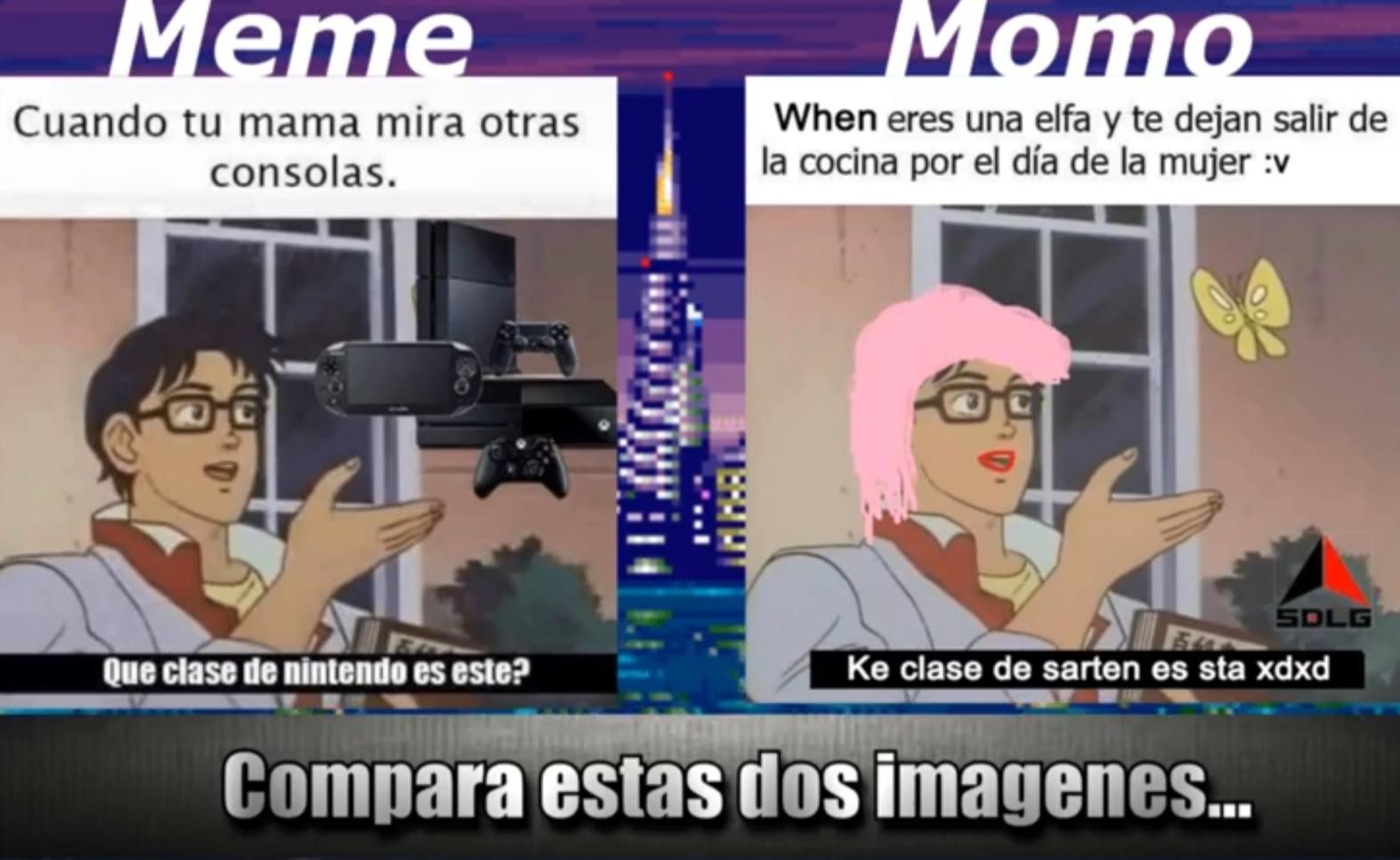 meme va momo
