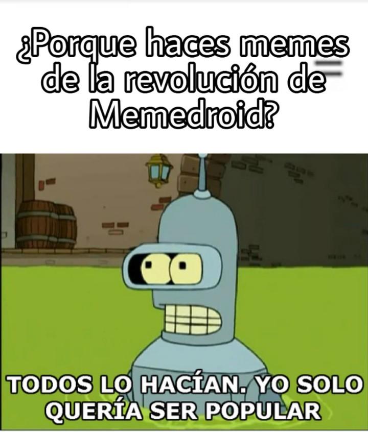 """""""""""""""""""""""""""""""REVOLUCIÓN"""""""""""""""""""""""""""" - meme"""