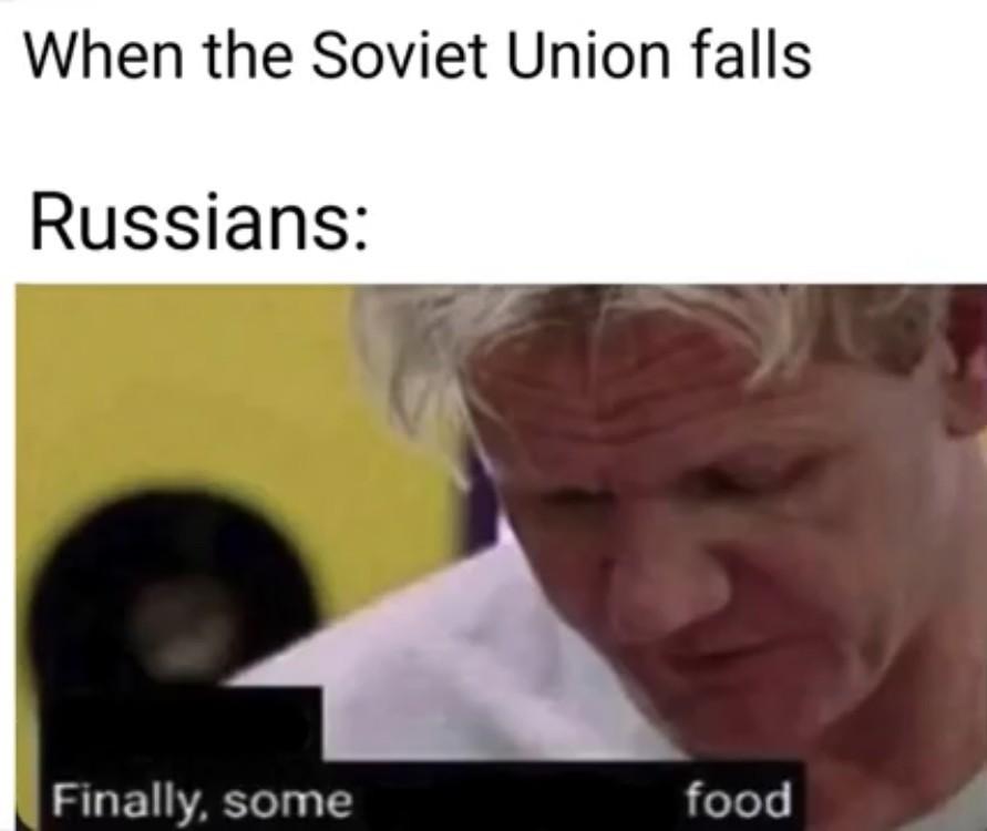 """Ah yes, """"food"""". - meme"""