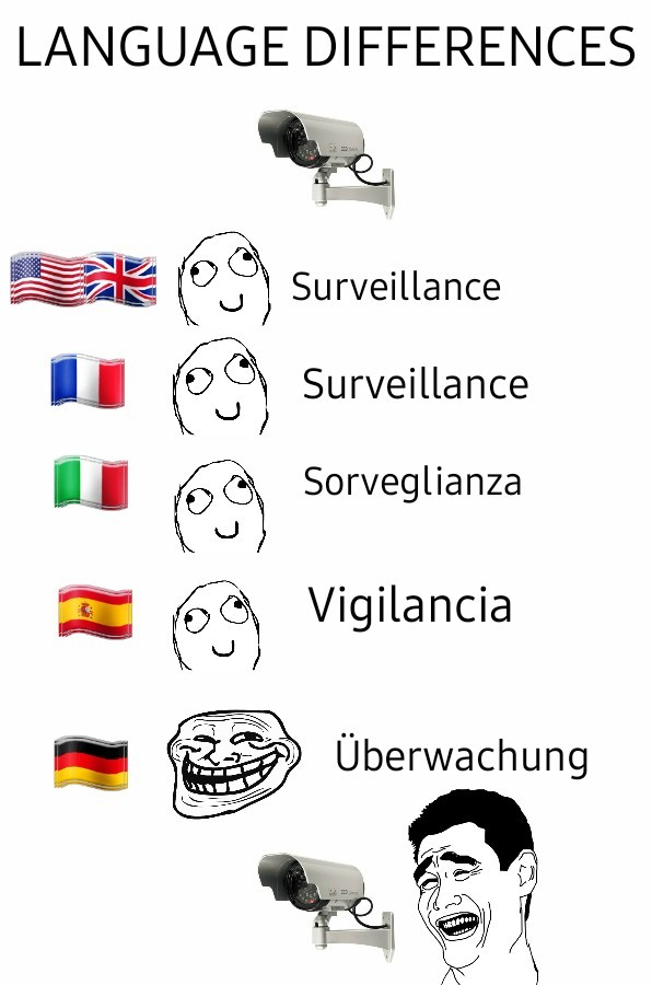 Differenze linguistiche - meme