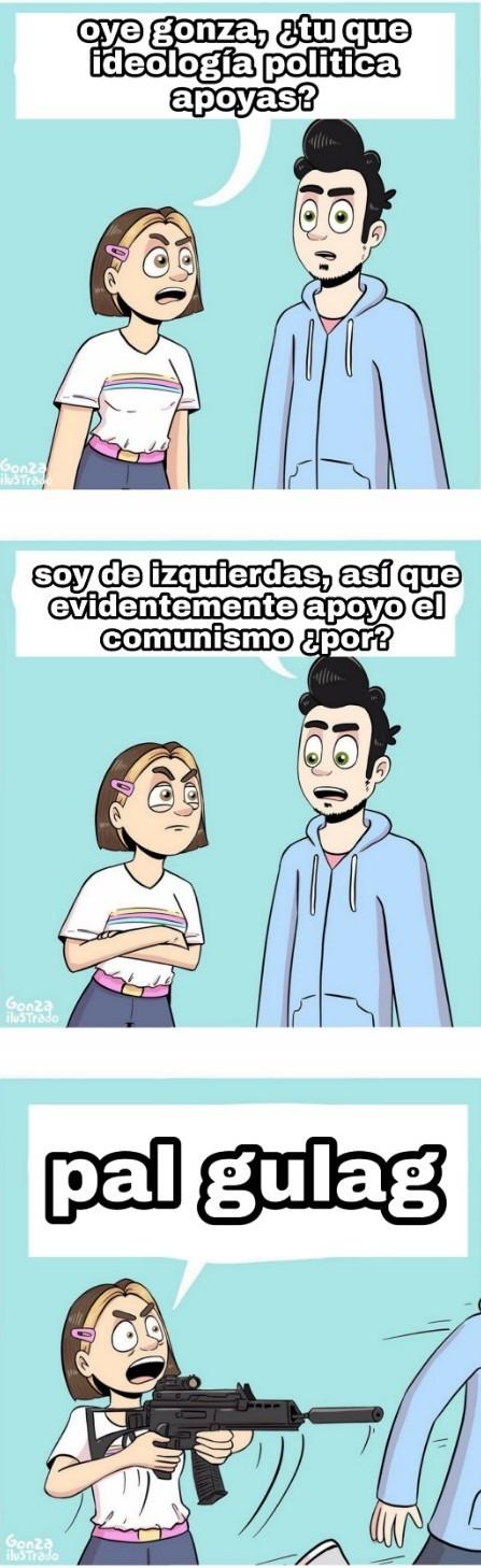 Pal gulag mariconazo - meme
