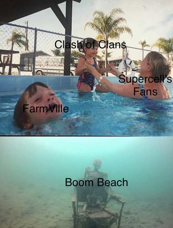 do people still play Boom Beach, or just me? - meme