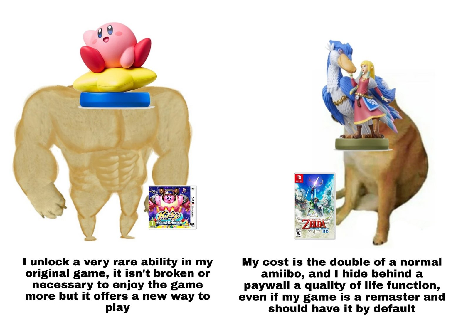 Nintendo taking its consumers as idiots for the 89th time - meme