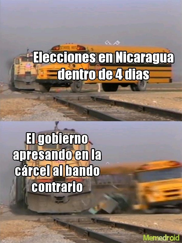 El gobierno de Nicaragua: jaja no :son: - meme