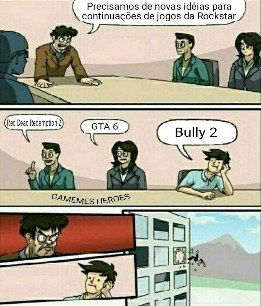 CADÊ BULLY 2 ROCKSTAR - meme
