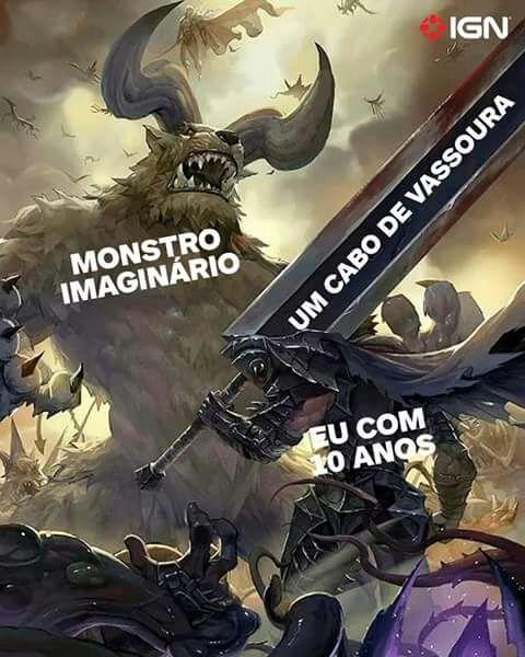 Saudades - meme
