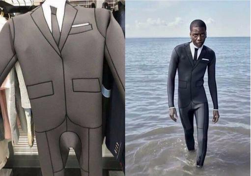 não humano utilizando trajes para cometer delitos - meme