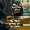 CoMe SeT tHe TaBlE