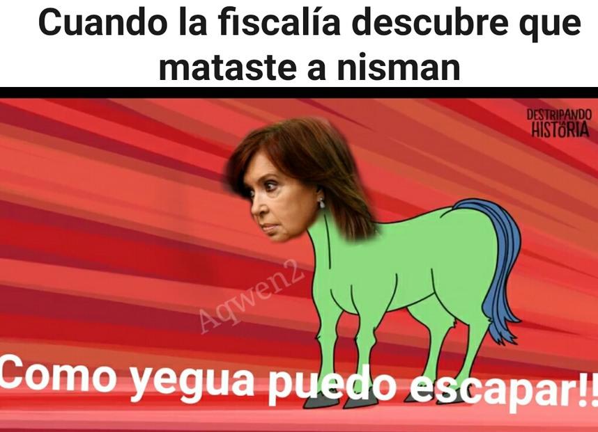 Nisman entrevisto a she jocker - meme