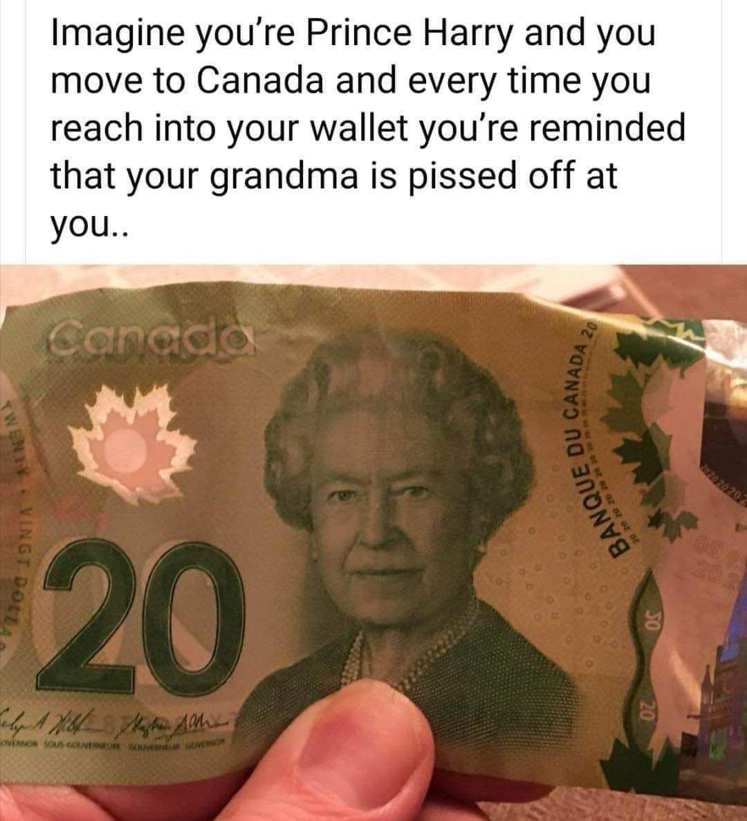 Gramama is pissed - meme