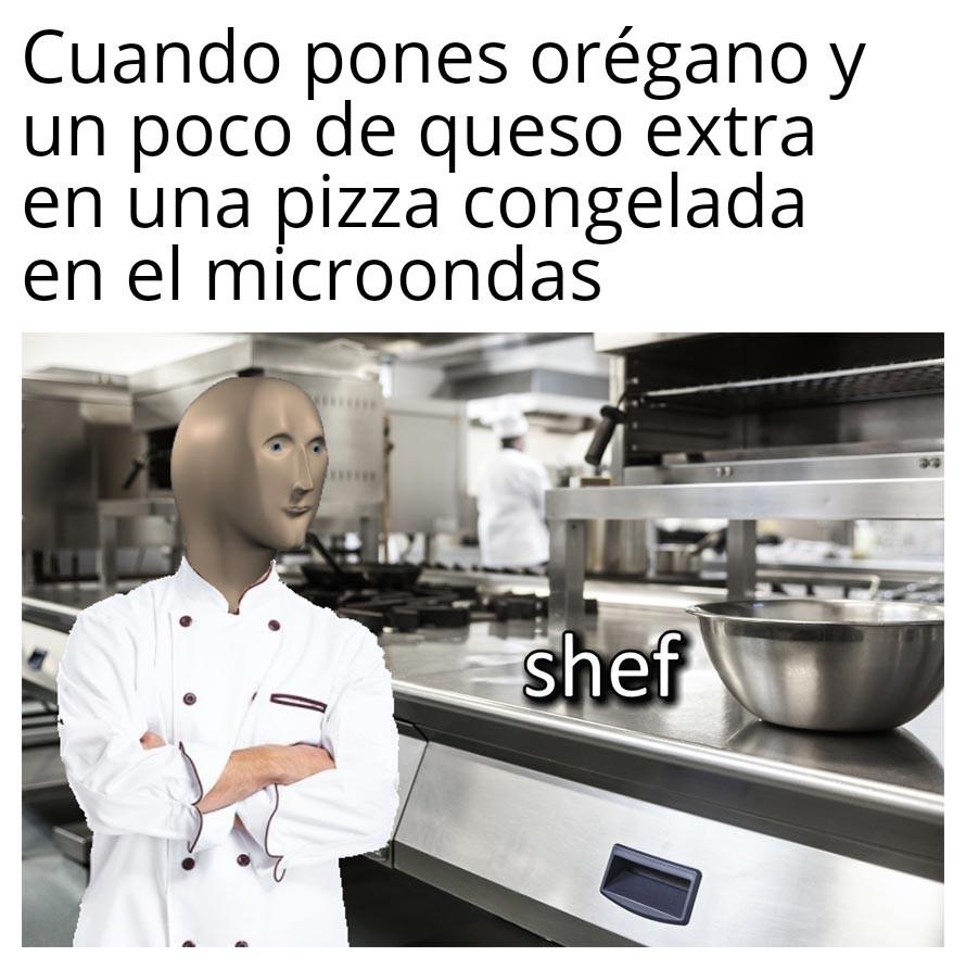 Eso es ser un máster chef - meme