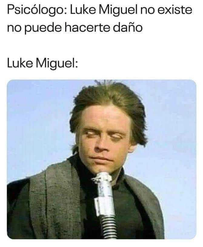 Luke Miguel - meme