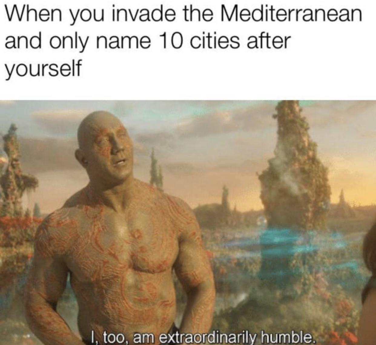 Humble indeed - meme
