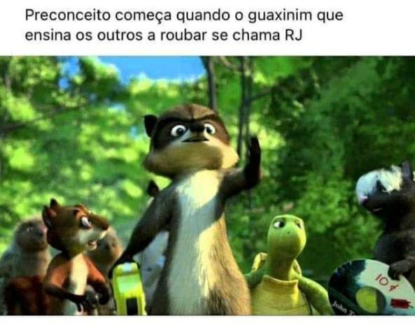 eu respeito cariocas - meme
