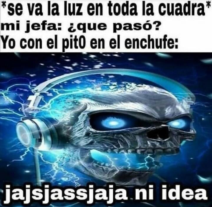 Alta electricidad - meme