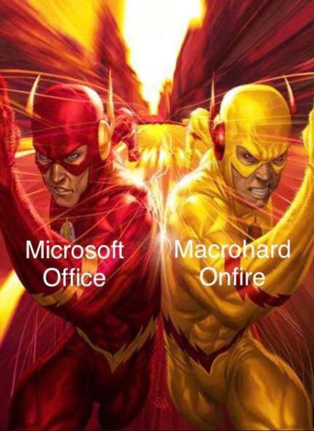 Reverse Microsoft - meme