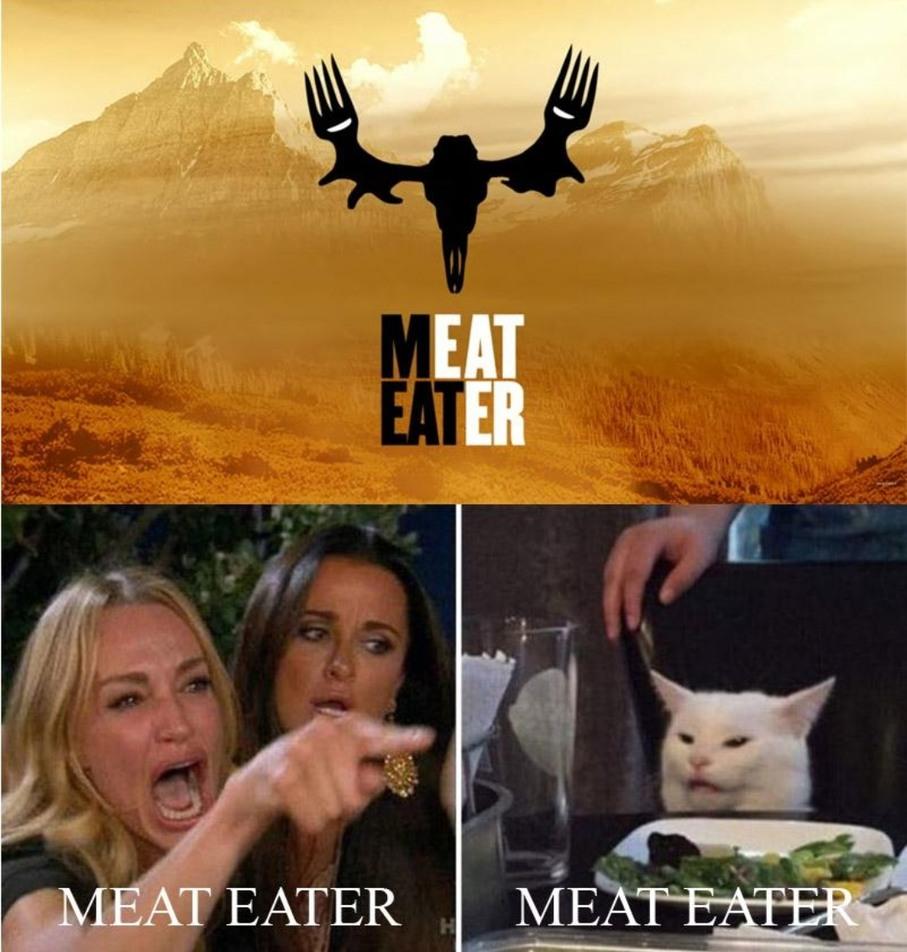 Meat eater - meme