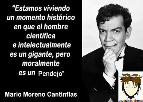 Sabio el Cantinflas - meme