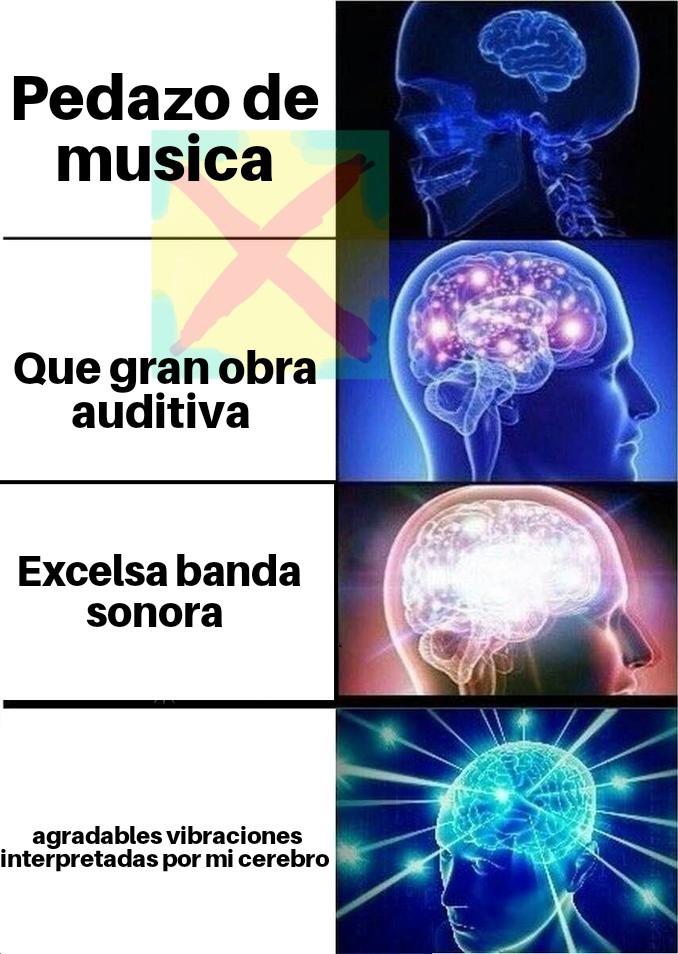 Excelsa banda sonora - meme