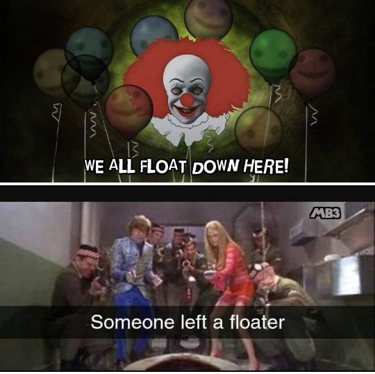 Floater - meme