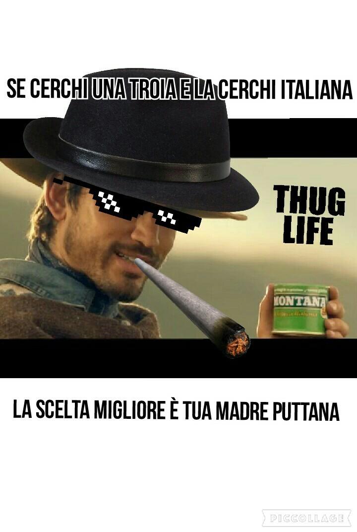 Gringo thug life - meme