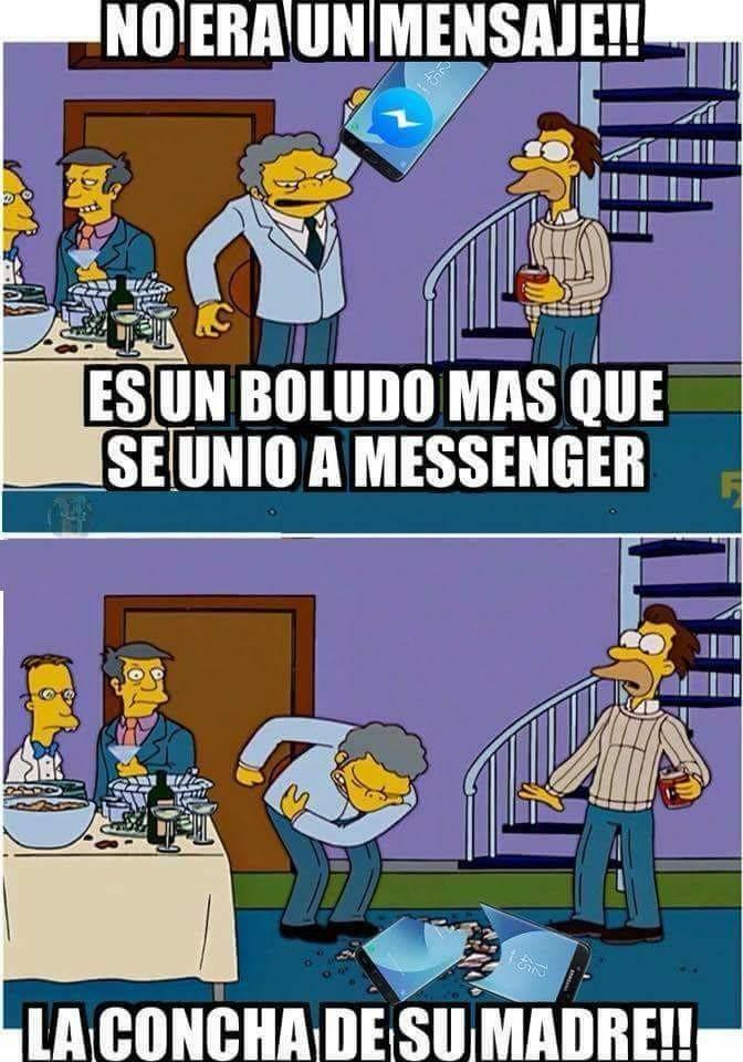 El troll del messenger - meme