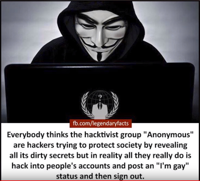 Now you know what hackers do - meme