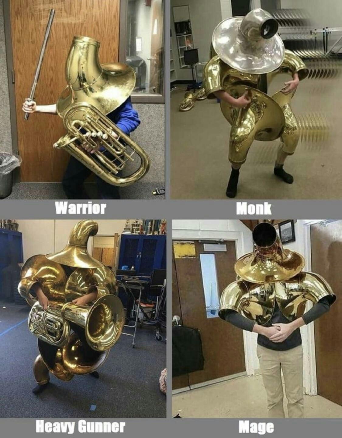 Choose your class - meme