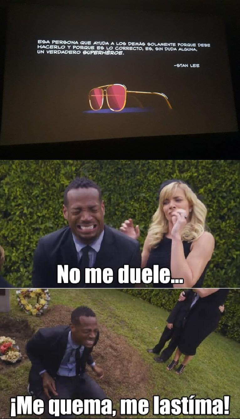 Eso me pasó en el cine - meme