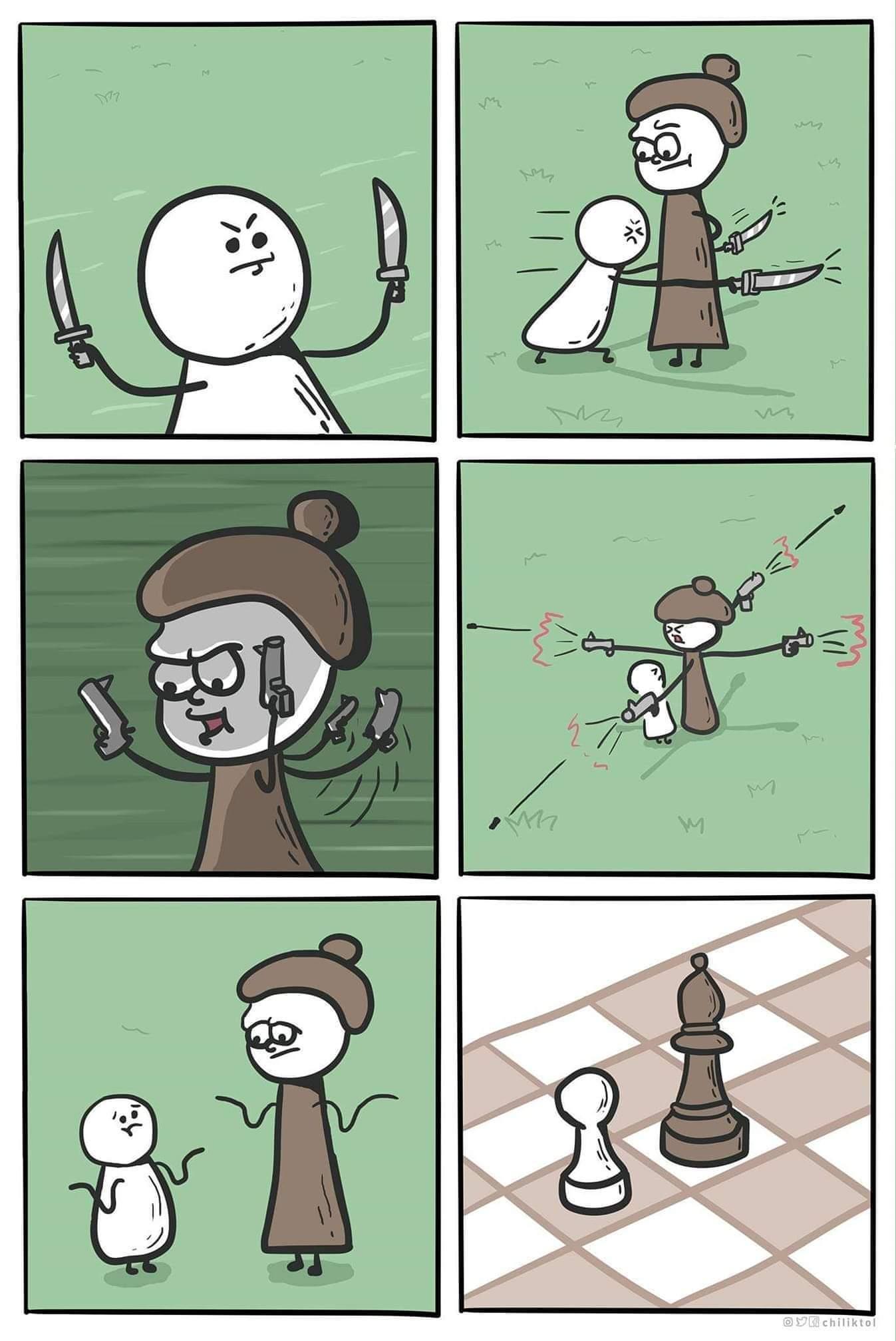 How chess works - meme