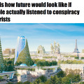 stop with your conspiracies