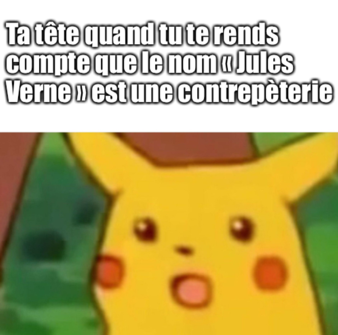 Jules Verne - meme