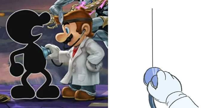Docter mario in the houze - meme
