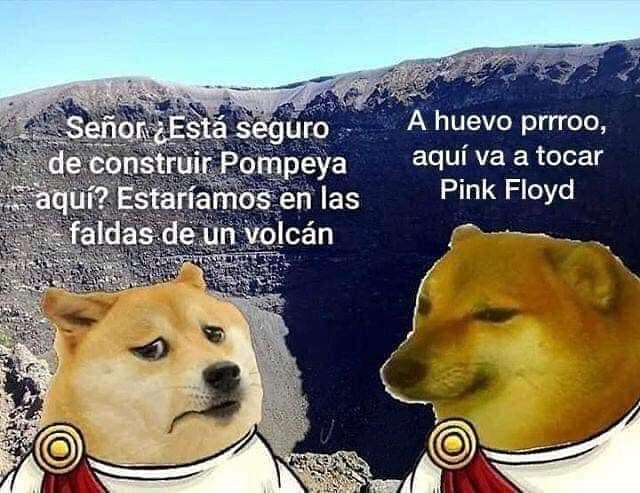 Pompeya - meme