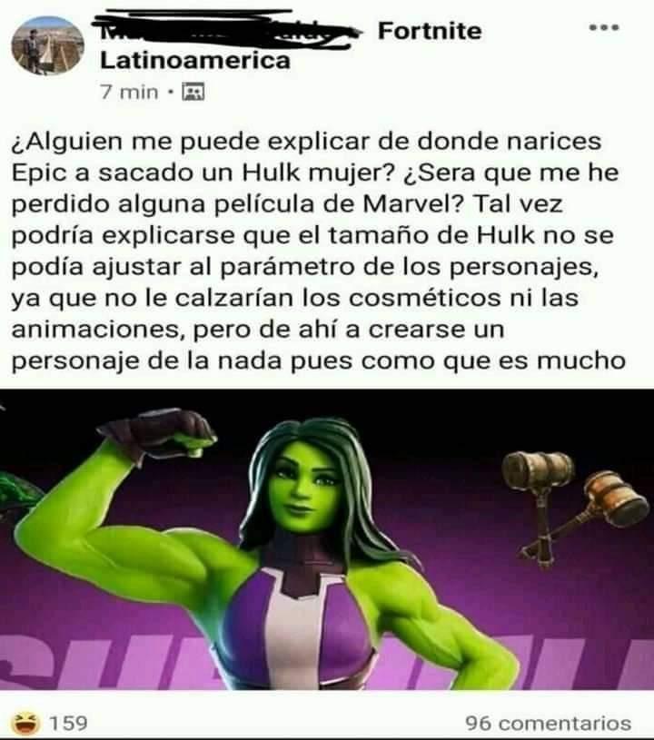 Hulk Mujer - meme