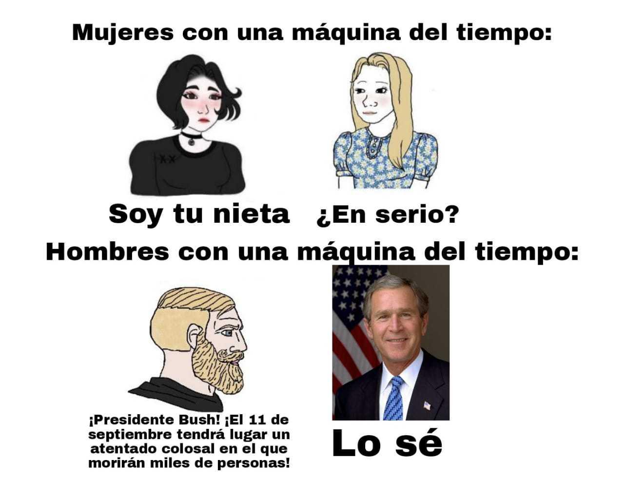 Bush hizo el 9/11 - meme