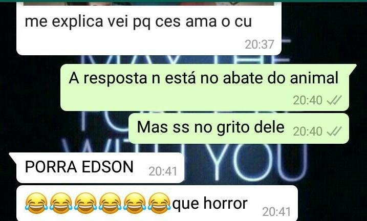 Poha Edson - meme