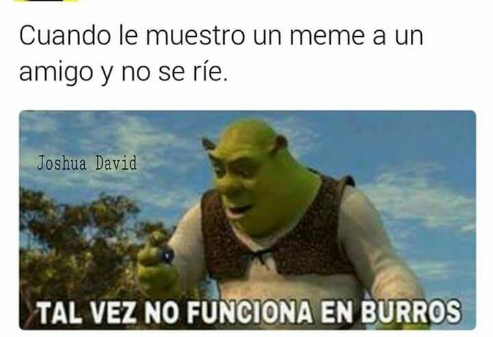 El título es burro :v - meme