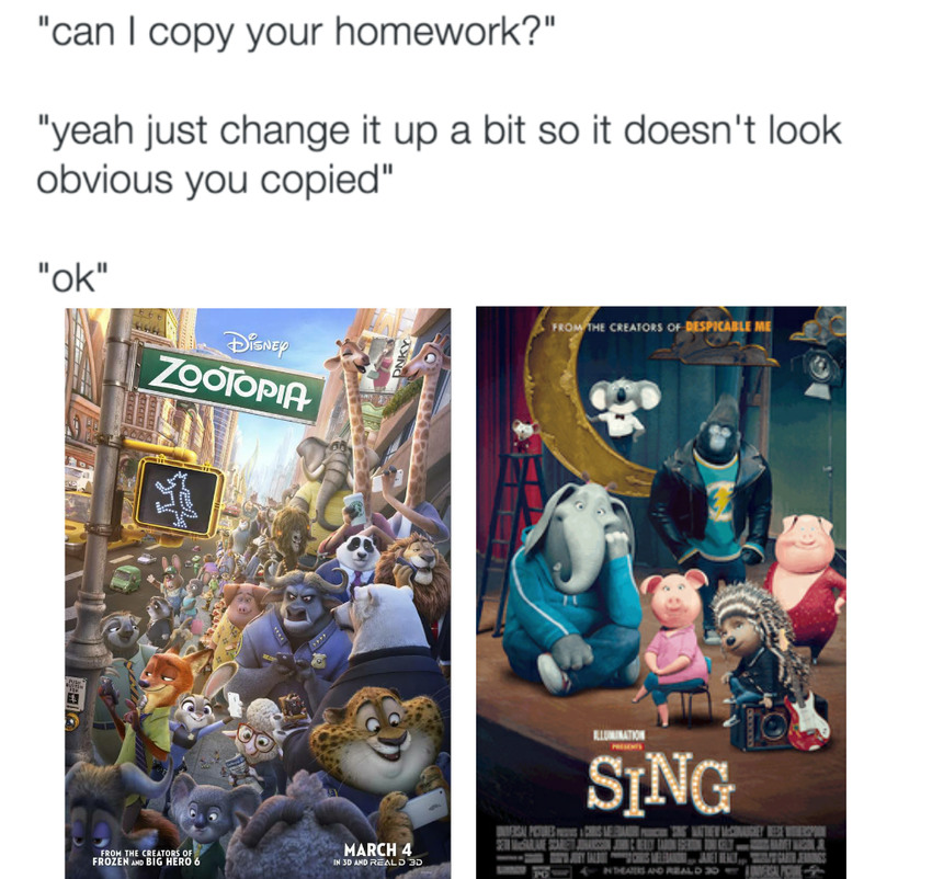 Sing is shit