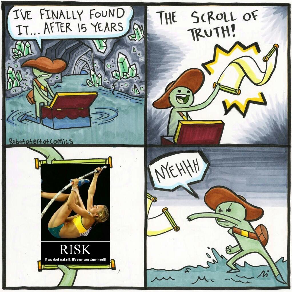 It's your own damn vault - meme