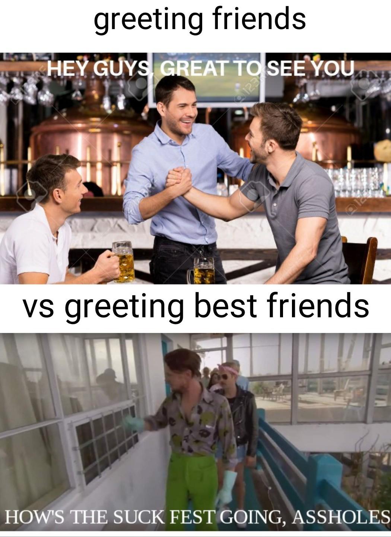 More assholes for your big suck fest - meme