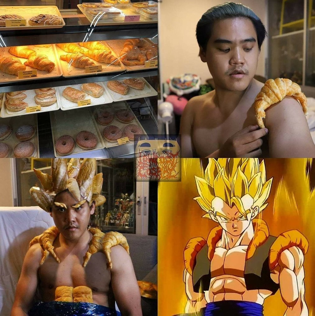 Dragon Bread Z - meme
