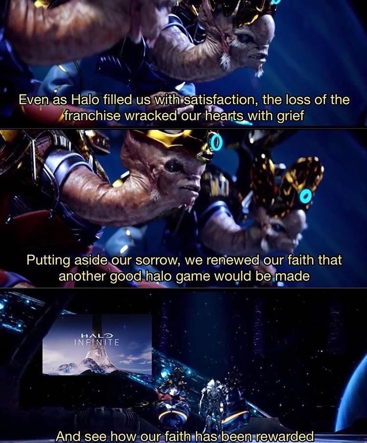 Praise Infinite \[T]/ - meme