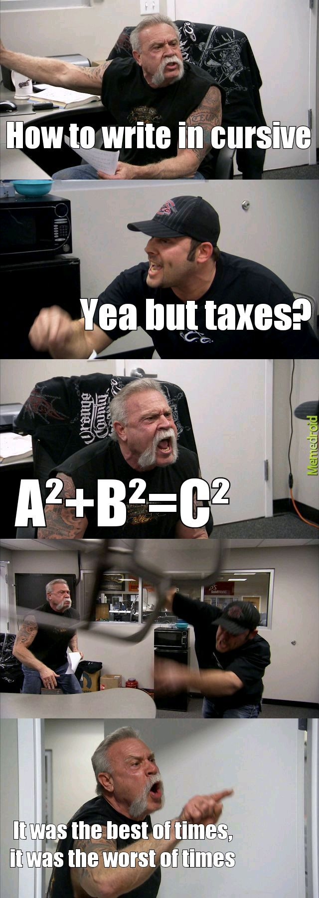Murica's school - meme