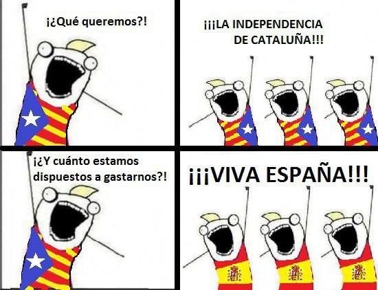 España > Cataluña - meme