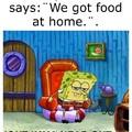 no food at home