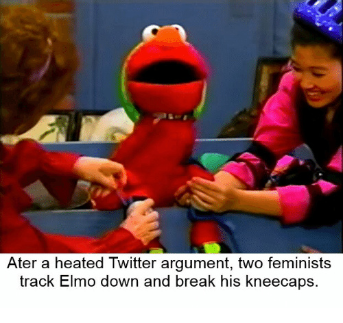 #save Elmo - meme