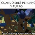 Dios no castiga dos veces... Peruano guero!!!