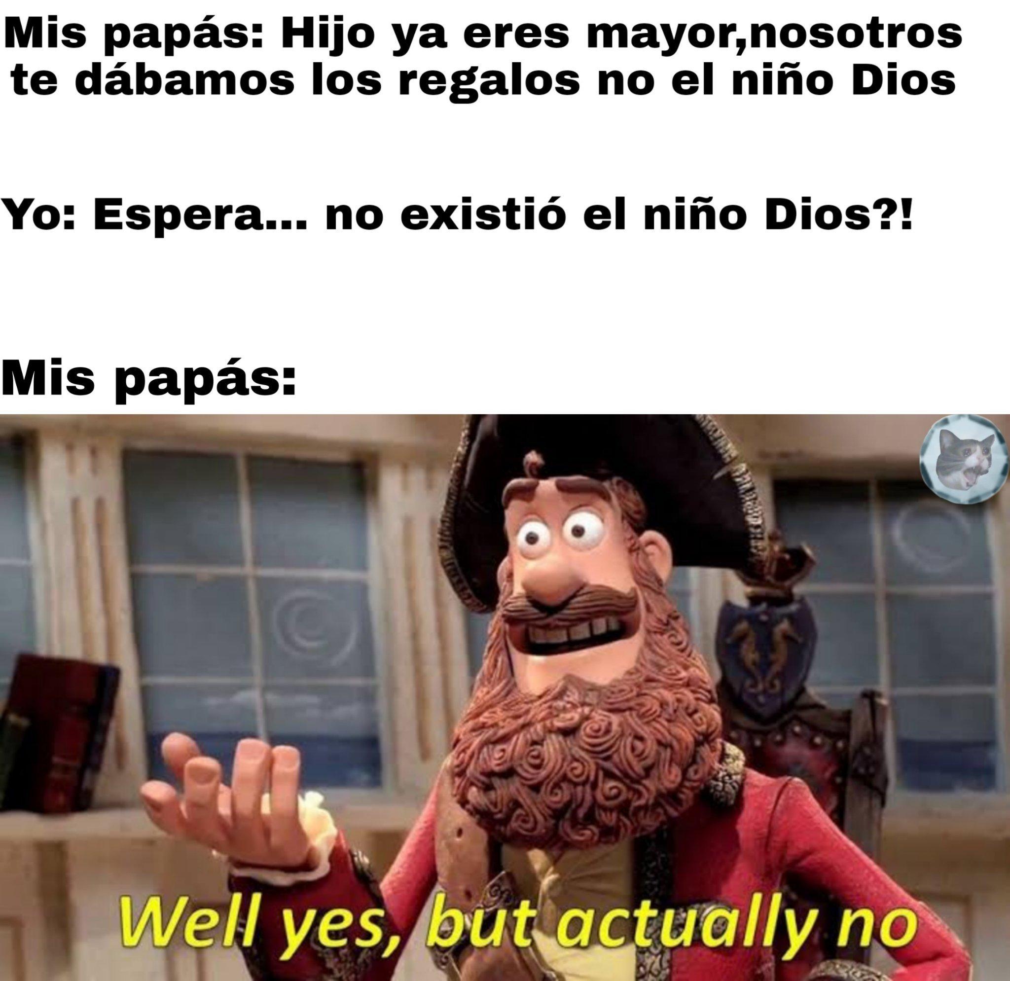 A si fue como el pequeño timmy comenzó a dudar de su religión - meme