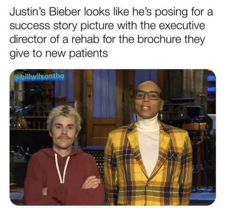 Bieber looks like what i imagine texas truckers to look like - meme
